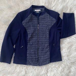 ‼️3/50.00 Tanjay Navy Beautiful Zip Up Coat